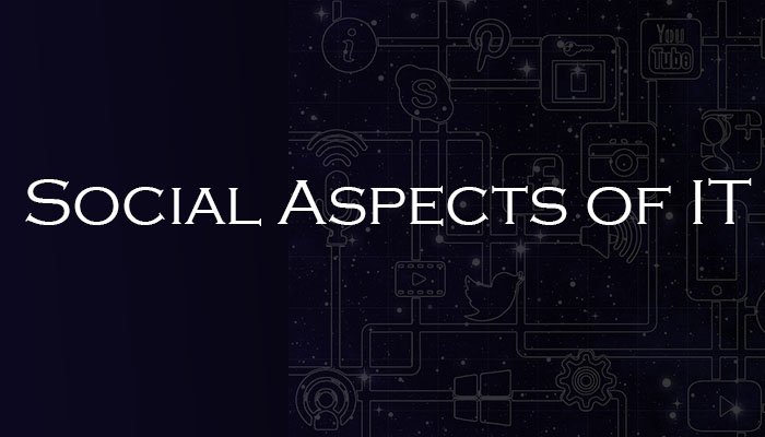 Social Aspects of IT